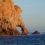 Ukształtowanie wyspy, widok z rejsu po morzu